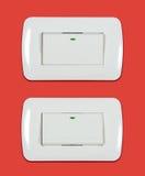 Interruptor de la luz encendido-apagado Imagen de archivo libre de regalías