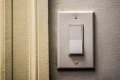 Interruptor de la luz rígido Fotografía de archivo libre de regalías