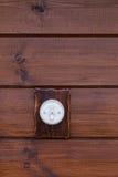 Interruptor de la luz retro Fotografía de archivo