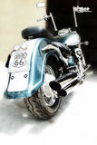 Interruptor de la moto Fotografía de archivo