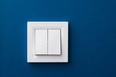 Interruptor de la pared Fotografía de archivo libre de regalías