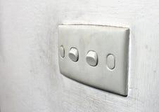 Interruptor de la pared Foto de archivo