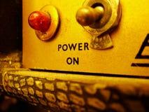 Interruptor de la vendimia Fotografía de archivo libre de regalías