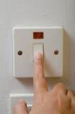Interruptor de ligar/desligar Imagens de Stock