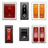 Interruptor de potência Fotografia de Stock Royalty Free