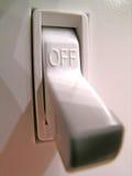Interruptor de potência Imagens de Stock Royalty Free