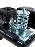 Interruptor de pressão para a bomba de água imagens de stock