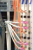 Interruptor de red óptico fotografía de archivo libre de regalías
