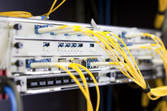 Interruptor de red Imagen de archivo