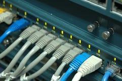 Interruptor de red Foto de archivo