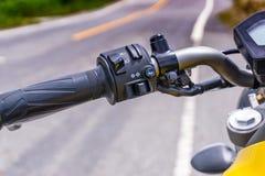 Interruptor del equipo de la motocicleta Fotografía de archivo