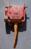 Interruptor del fuego Foto de archivo