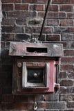 Interruptor del fuego del vintage Fotos de archivo libres de regalías