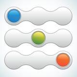 Interruptor del resbalador del Web del vector Fotos de archivo libres de regalías