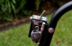 Interruptor do Lawnmower fotos de stock