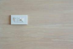 Interruptor e interruptor da luz mais não ofuscantes Imagem de Stock Royalty Free