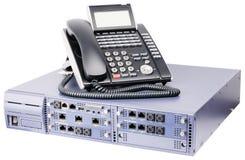 Interruptor e telefone do telefone Imagens de Stock Royalty Free