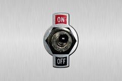 Interruptor eléctrico imagen de archivo libre de regalías