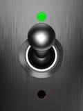 Interruptor eléctrico analogico ilustración del vector