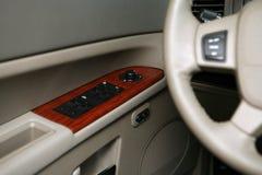 Interruptor eléctrico de la ventana del coche fotos de archivo libres de regalías