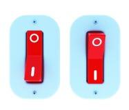 Interruptor elétrico ilustração stock