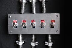 Interruptor encendido apagado Fotografía de archivo libre de regalías