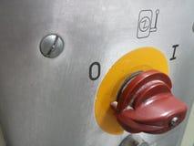 Interruptor industrial Imagens de Stock Royalty Free