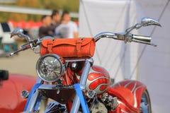Interruptor inversor da motocicleta fotografia de stock royalty free