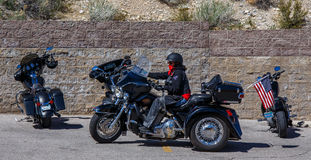 Interruptor inversor de Harley Davidson Fotografia de Stock Royalty Free
