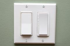 Interruptor ligero Imagen de archivo libre de regalías