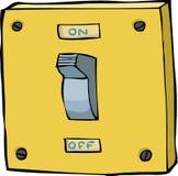 Interruptor ligero Imagen de archivo
