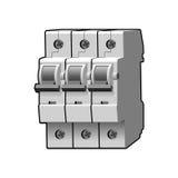Interruptor moldado do caso Multi-polo modular Foto de Stock