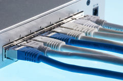 Interruptor obstruído Fotografia de Stock