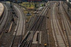 Interruptor Railway Imagens de Stock