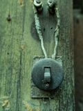 Interruptor retro elétrico imagem de stock