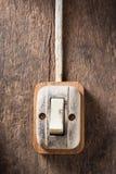 Interruptor velho imagens de stock royalty free