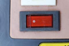 Interruptor vermelho fotos de stock