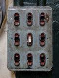 interruptores Fotografía de archivo