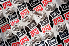 Interruptores Foto de Stock