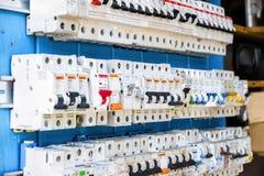 Interruptores de alimentação Fotografia de Stock