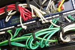 Interruptores de red Imagen de archivo
