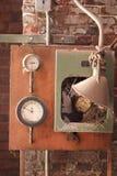 Interruptores e indicadores Imagen de archivo libre de regalías