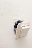 Interruptores eléctricos Fotos de archivo libres de regalías