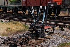 Interruptores ferroviarios Imágenes de archivo libres de regalías