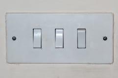 Interruptores leves Imagens de Stock Royalty Free