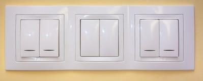 Interruptores ligeros Fotografía de archivo libre de regalías