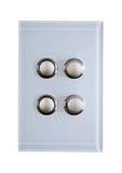Interruptores para luzes Foto de Stock
