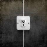 interruptorströmbrytare Arkivfoton