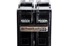 Interruttore elettrico fotografie stock