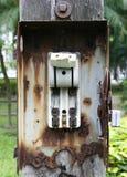 Interruttore elettrico immagini stock libere da diritti